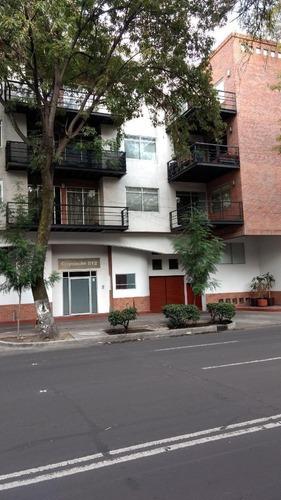 departamento en renta en avenida coyoacán, del valle