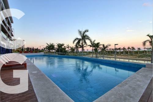 departamento en renta en cancun en allure puerto cancun 3 r
