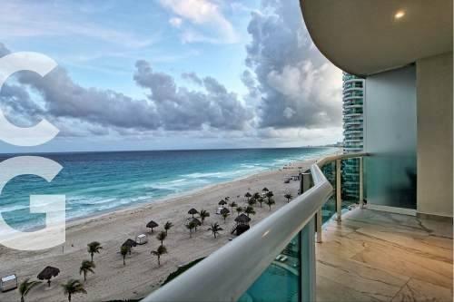 departamento en renta en cancun en bay view grand 3 rec