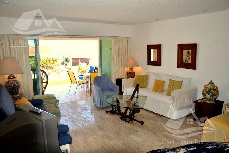 departamento en renta en cancún zona hotelera / condominio brisas