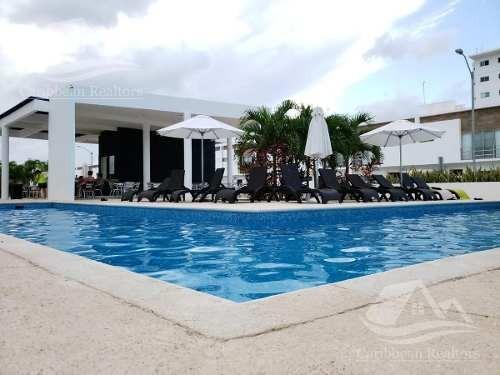departamento en renta en cancún/av. huayacan