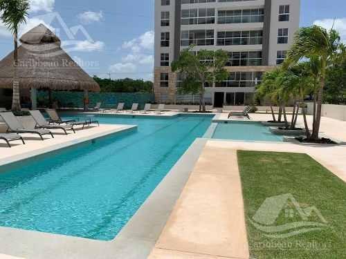 departamento en renta en cancun/cumbres