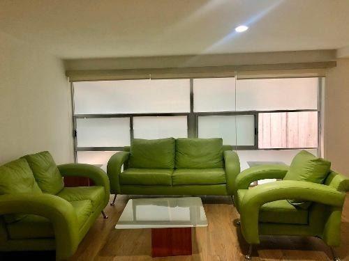 departamento en renta en colonia napoles con o sin muebles