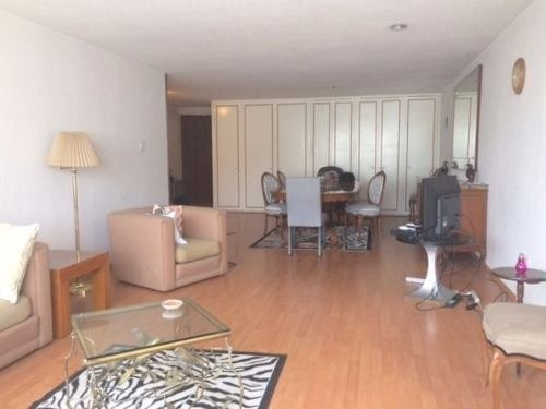 departamento en renta en condominio emerson, amueblado en polanco.