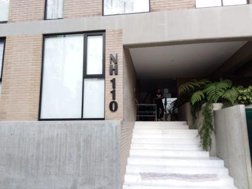 departamento en renta en niños héroes de chapultepec (s)