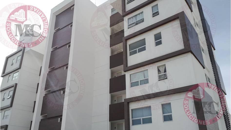 departamento en renta en  penthouse residencial la aurora ii en aguascalientes