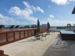departamento en renta en playa del carmen/riviera maya/playa aurora