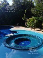 departamento en renta en playa del carmen/riviera maya/selvamar