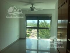 departamento en renta en puerto cancún/zona hotelera/ puerta del mar