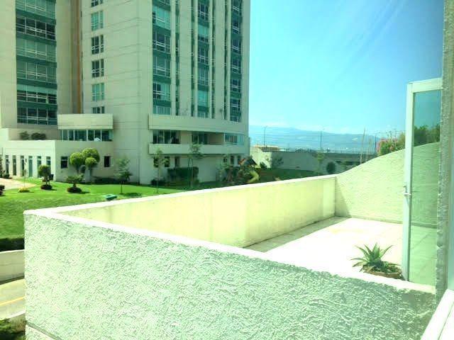 departamento en renta en residencial toledo con terraza, interlomas