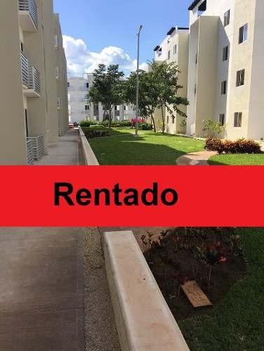departamento en renta - residencial jardines del sur iii