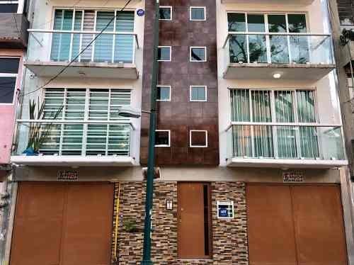 departamento en renta zona narvarte, atenor salas, concepcion mendez ciudad de méxico