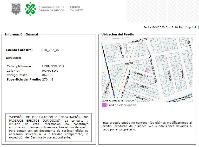 departamento en roma sur mx20-hw7118