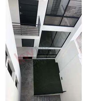 departamento en salvador nava con patio, terraza  y alberca (zona universitaria).