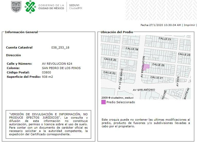 departamento en san pedro de los pinos mx20-hp9445