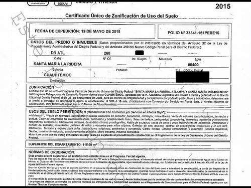 departamento en santa maria la ribera mx18-ec6656
