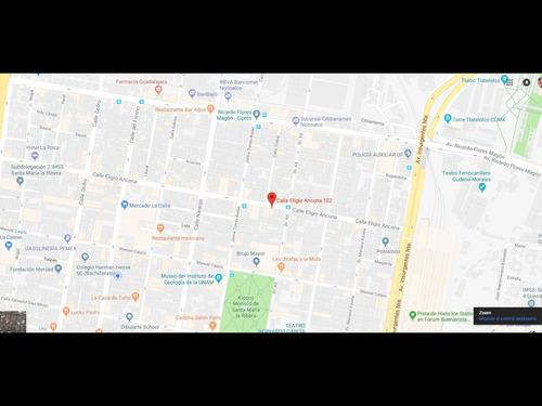departamento en santa maria la ribera mx18-eg8527
