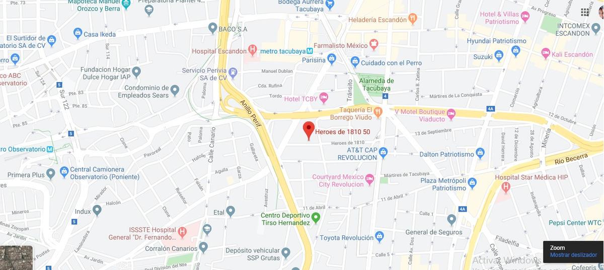 departamento en tacubaya mx20-hm7990