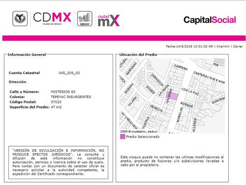 departamento en tepeyac insurgentes mx18-eq9193