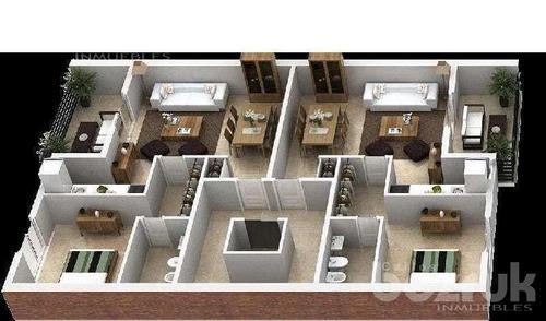 departamento en tigre venta 1 dormitorio 2 ambientes cochera a estrenar