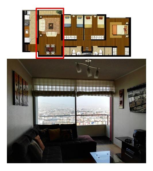 departamento en venta 3ldklp (3hab, living, dining, kitchen,