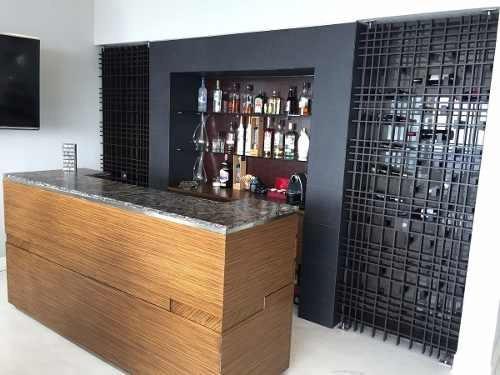 departamento en venta amueblado en club residencial bosques, cdmx