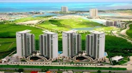departamento en venta cancún be towers c2345