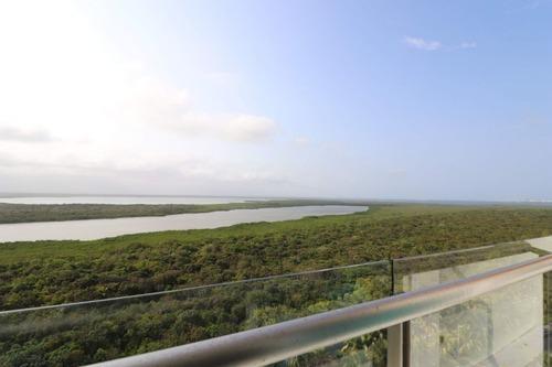 departamento en venta  cancun vista mar, torre peninsula
