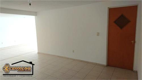 departamento en venta, col. cuauhtémoc 2 recámaras. odd-0195