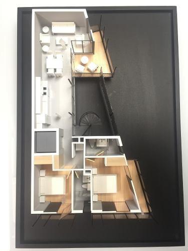 departamento en venta, colonia del valle, 2 cuartos terraza.