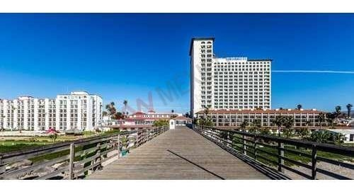departamento en venta con hermosa vista al mar, albetca, a la ciudad y en el corazon de la ciudad, ubicado en condominio en hotel rosarito.