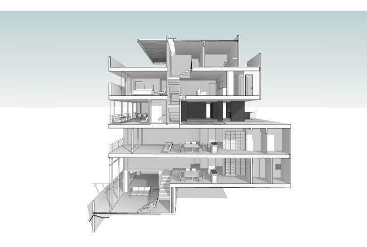departamento en venta con vista a la ciudad 3 niveles atrás centro convenciones