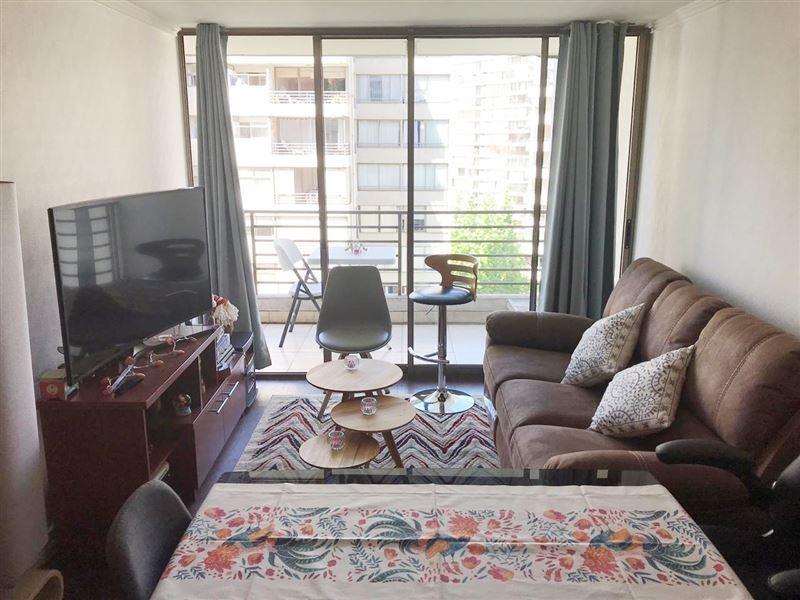 departamento en venta de 1 dormitorio en las condes