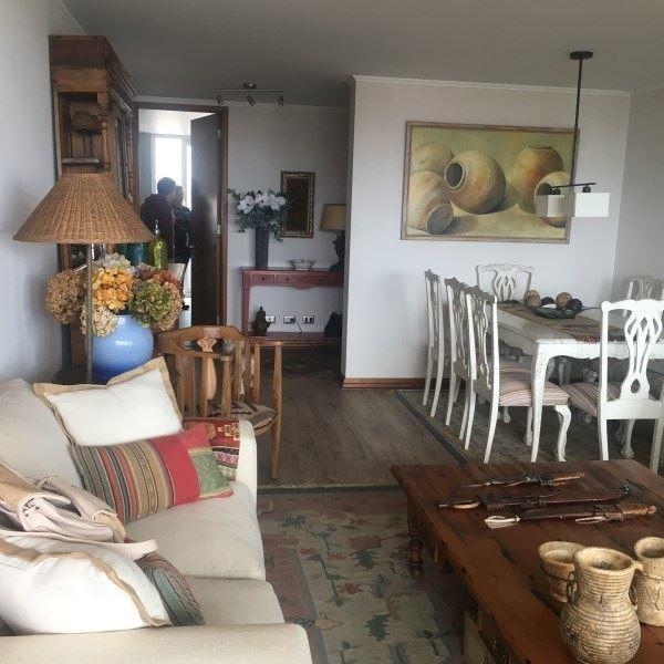 departamento en venta de 4 dormitorios en concón