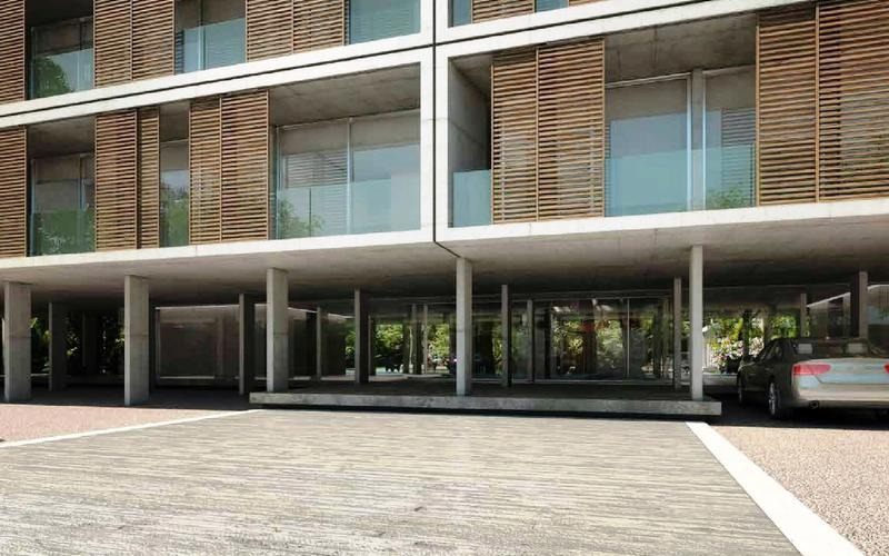 departamento en venta de cuatro ambientes en castelar, con balcón, cochera y baulera.