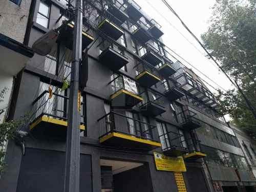 departamento en venta, doctores centro, dos recamaras, elevador, roof garden privado