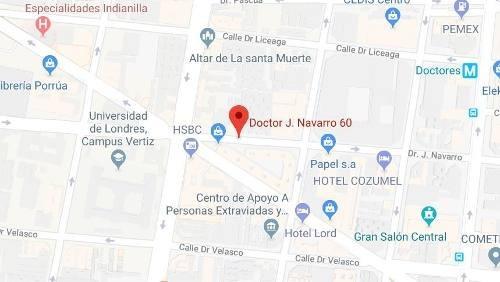 departamento en venta dr. navarro, col. doctores