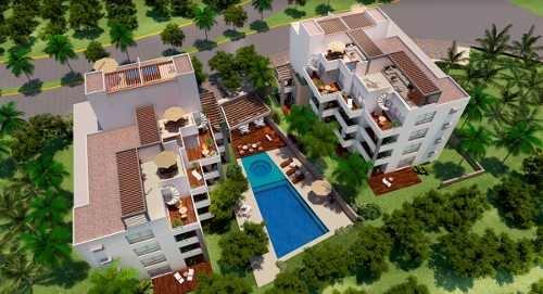 departamento en venta en akumal, paraiso residencial