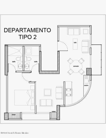 departamento en venta en alamos # 19-93