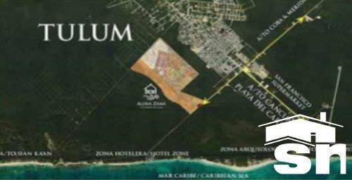 departamento en venta en aldea zama, halun, zona tulum qh-1f