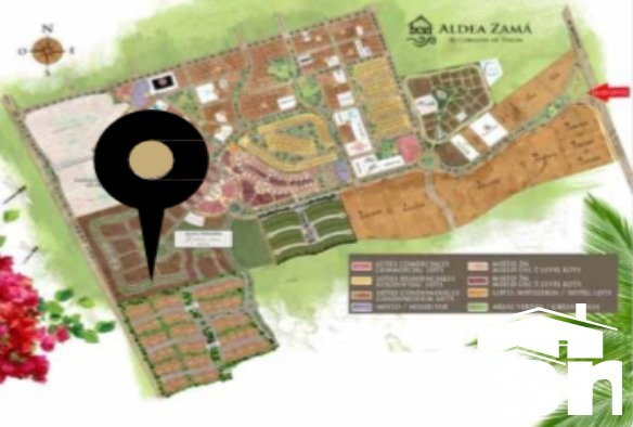 departamento en venta en aldea zama, halun, zona tulum qh-1h