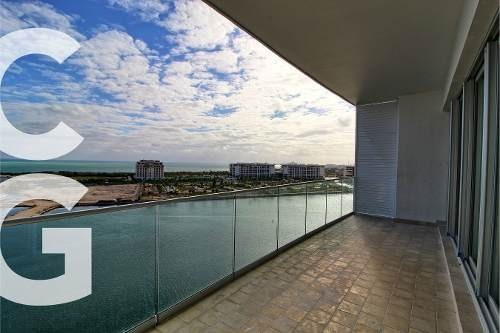 departamento en venta en cancun en aria puerto cancun de 3 r