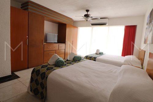 departamento en venta en  cancun frente al mar villas marlin