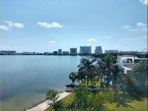 departamento en venta en cancun, isla dorada.