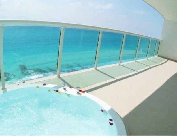 departamento en venta en cancun zona hotelera/ bay view grand