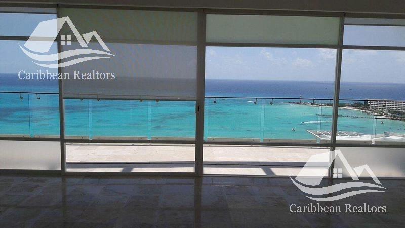 departamento en venta en cancún zona hotelera/punta cancún