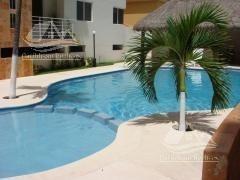 departamento en venta en cancun/palma del sol