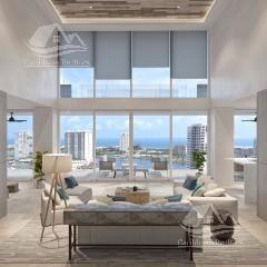 departamento en venta en cancun/puerto cancun/zona hotelera