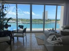 departamento en venta en cancun/puerto cancun/zona hotelera/aria