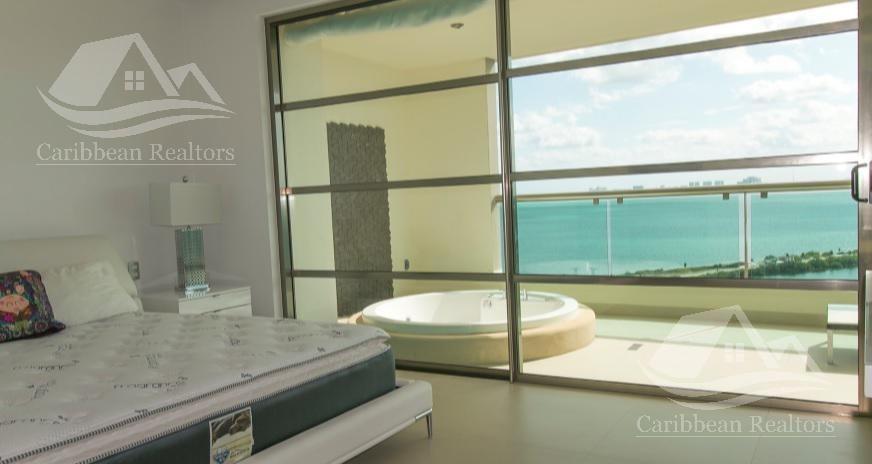 departamento en venta en cancun/puerto cancun/zona hotelera/novo/torre boreal